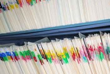 Medical records administrators know how to organize paper records.