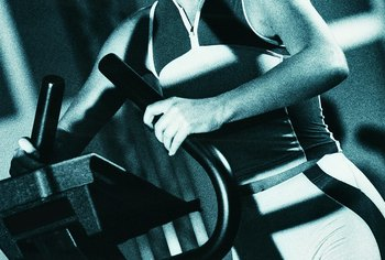 Good form on a stair stepper increases the calories burned.