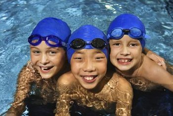 Happy smiles will reward your pool installation efforts.