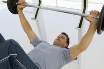 Bench presses effectively tone your pecs.