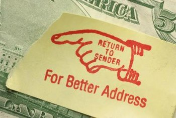 Internet postage can help you avoid address errors.