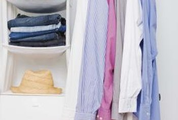 Good organizational planning maximizes the use of old, small closets.