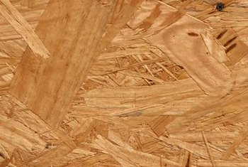 OSB is manufactured in a process similar to plywood.