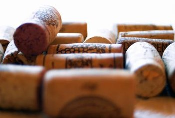 Wine corks make excellent raw materials for arts and crafts projects.