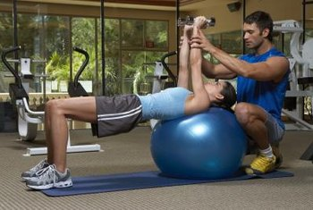The business side of your gym is charged with daily operations, such as personal training.