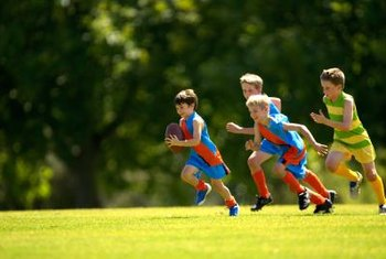 Youth fitness trainers help kids stay in shape.