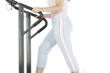 Raising the treadmill's incline increases exercise intensity.