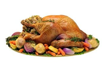 Self-basting turkeys can have small amounts of gluten.
