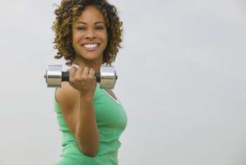 Regular dumbbells provide the resistance you need to build muscle.