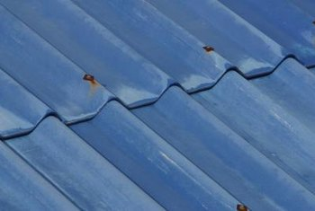 Dented metal roofs without large rust spots can be repaired.