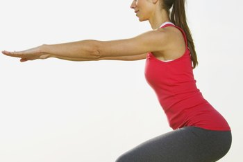Squats are ideal for both weight loss and toning, if they're done correctly.