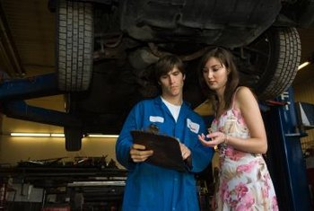 PDI technicians often work at car dealerships.
