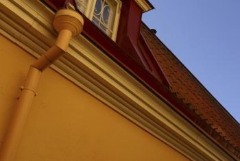 Gutters and downspouts protect the foundation of your home from water..