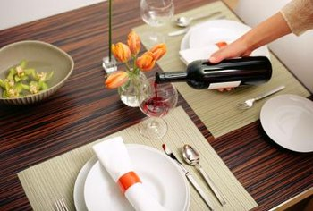 Protecting your table will help keep it looking new.
