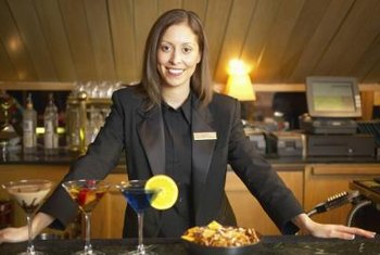 Beer and wine bar managers earn more as they get experience working at bars and restaurants.