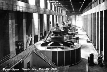 The Hoover Dam is among the nation's most famous conventional hydropower plants.