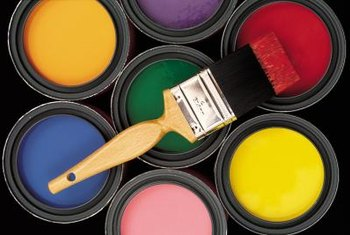 Accounting for a wholesale paint business centers around keeping inventories lean.