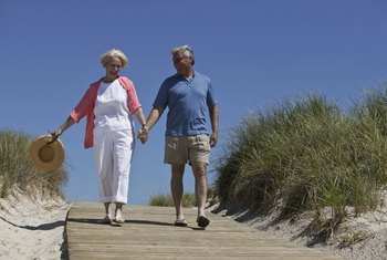 Walking can be time spent with a loved one while also looking after your health.