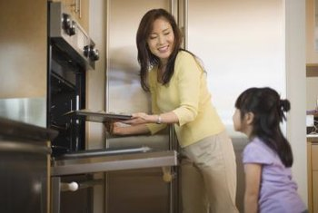 Cook several dishes at once to reduce the amount of time you use the oven.