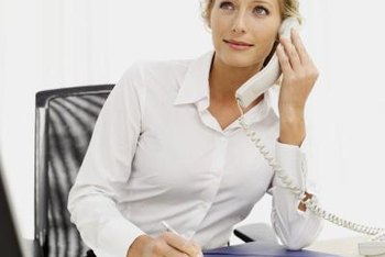 A personal phone call can be a good way to respond to a complaint.