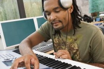 Music producers combine a series of technical and creative skills.