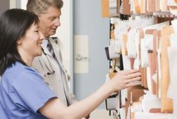Medical records are more easily sorted and analyzed in electronic form.