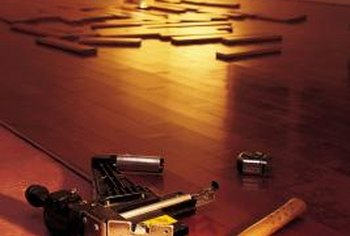 Repairing hardwood floors is part of the long-term maintenance.
