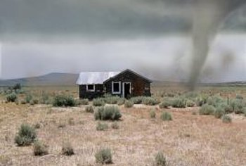 Take shelter in your storm cellar during severe weather.