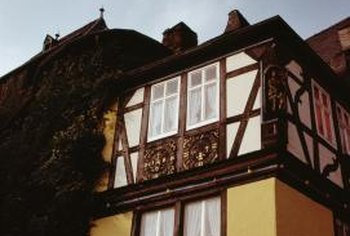 A Tudor home has several unique characteristics.