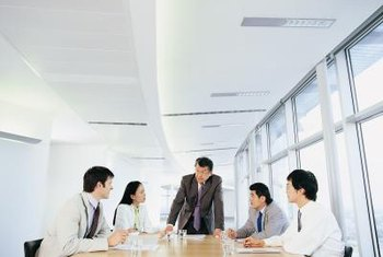 Meetings provide a forum for publicly praising groups.