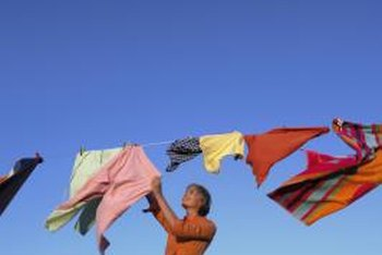 Drying closets dry clothes three times faster than line drying.
