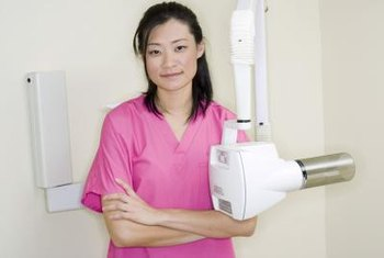 Dental hygienists often take x-rays.