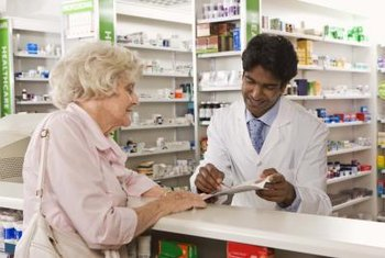 Pharmacists help patients understand their prescribed medications.
