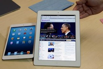 Your iPad's physical size doesn't directly dictate the tablet's speed.
