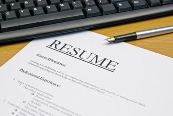 Include objectives on your resume or cover letter.