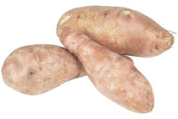 Several varieties of sweet potato plants have purple leaves.