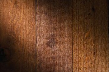 Matching dark oak flooring throughout your home is not impossible.