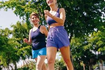 You can burn equivalent calories while brisk walking instead of jogging, but it will take longer.