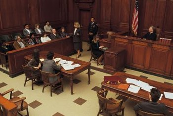 Defense attorneys work to prevent a court judgment against their client.
