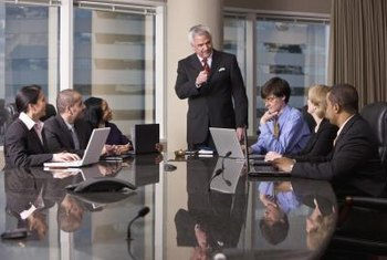 Your conference room should reflect your company's image.