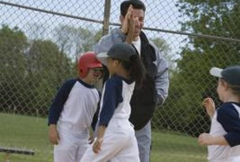 Coaches help motivate children to perform well on and off the field.