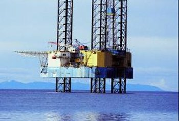 Working offshore on an oil platform can be highly demanding and highly lucrative.
