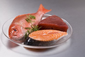 Fish offers a source of healthy fats.