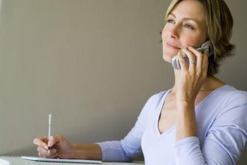 Ask general questions about the job during a phone interview.