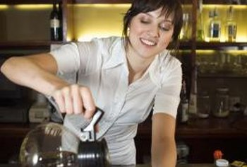 Bartenders can avoid drinking on the job.