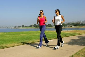 Running burns calories for fat loss while improving the tone of your thighs.