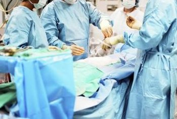 RN first assistants provide direct patient care during surgical procedures.