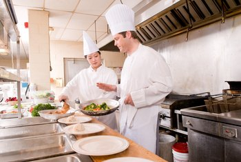 Food service facilities follow safety sanitation standards to keep food safe.