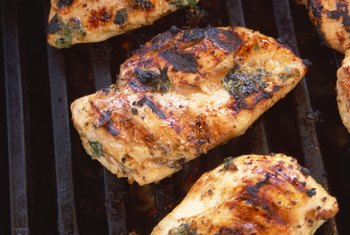 Choose grilled protein-rich foods over fried foods.