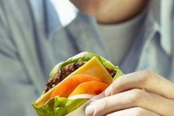 Enjoy cheeseburgers in moderation to avoid too much saturated fat.